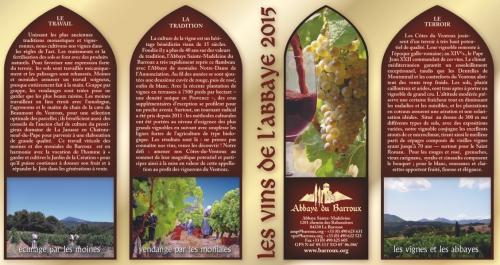 abbaye,barroux,bénédictins,vin