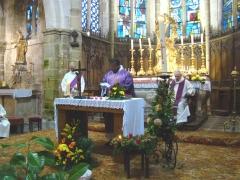vosges,lamarche,monthureux sur saône,bleurville,paroisse,catholique,abbé ayéméné,jubilé,sacerdoce