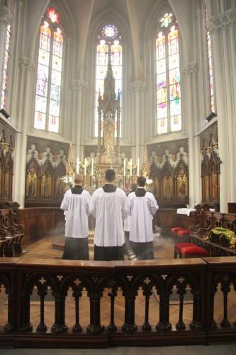 lorraine,nancy,chapellenie bienheureux charles de lorraine habsbourg,charles d'autriche,abbé husson,catholique,église,marie immaculée,soeurs de saint charles