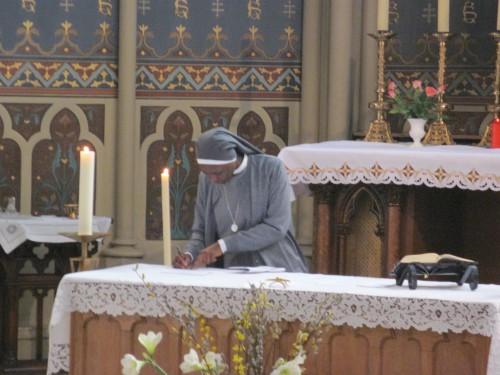 lorraine,nancy,soeurs de saint charles,profession religieuse,sénégal
