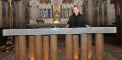 lorraine,nancy,autel,église,notre dame de lourde,consécration,diocèse de nancy et toul